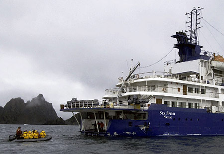 Sea Spirit Information  Antarctica Cruise Ships By Argentina For Less