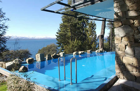 Design Suites Bariloche Swimming Pool Argentina 5 Star Hotels Vacation