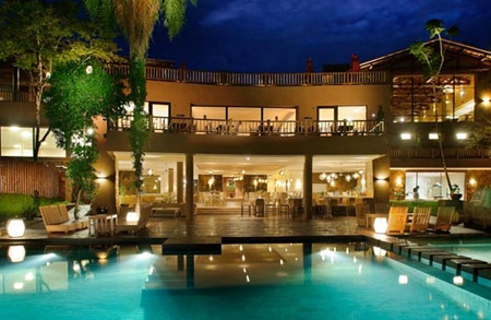 Loi Suites Iguazú View From The Coutyard Argentina 5 Star Hotels Vacation