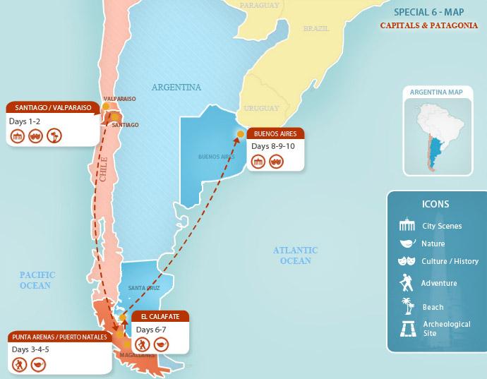 Argentina Packages Capitals Amp Patagonia Argentina Travel