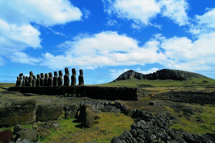 Breathtaking scenery in Easter Island