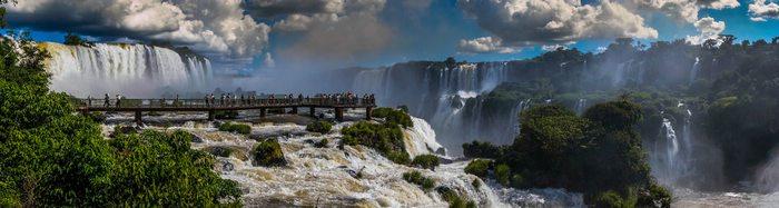 Brazilian Iguazu Falls