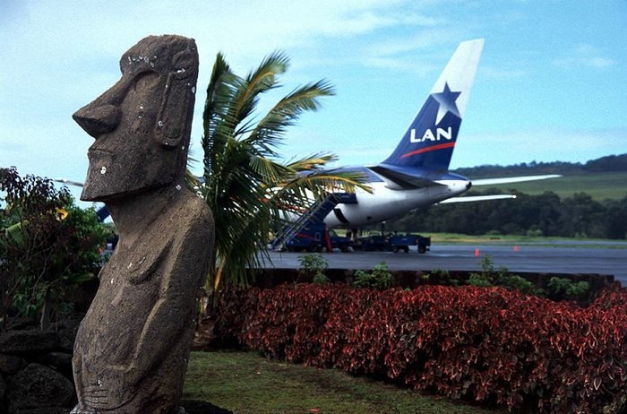 Mataveri Airport Easter Island Chile