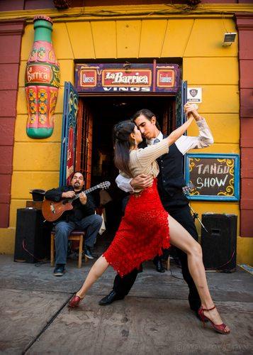 caminito tango la boca buenos aires