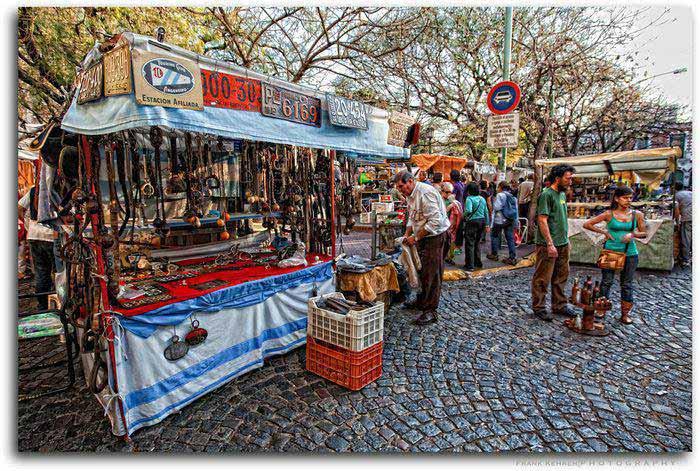 San Telmo antiques market Buenos Aires