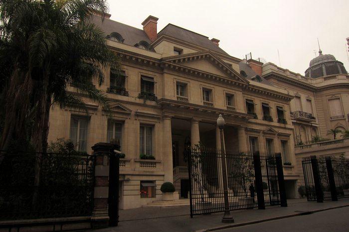 Palacia Duhau recoleta Buenos aires