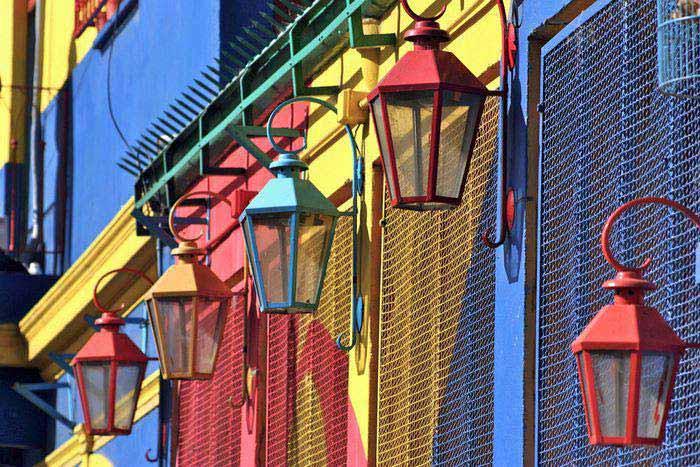 Boca neighborhood of Buenos Aires