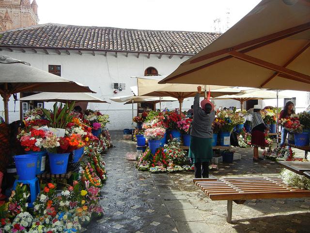 Market in Cuenca, Ecuador