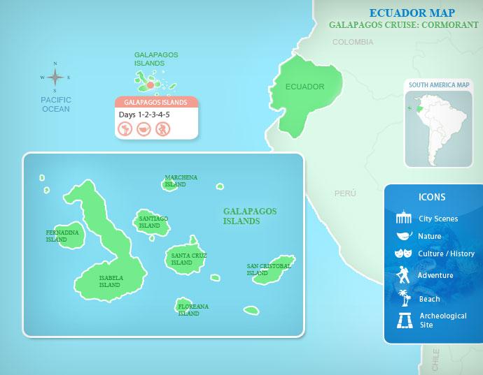 Galapagos Cruise Cormorant Galapagos Travel By