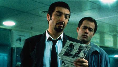 A scene from Argentine Film Nueve Reinas